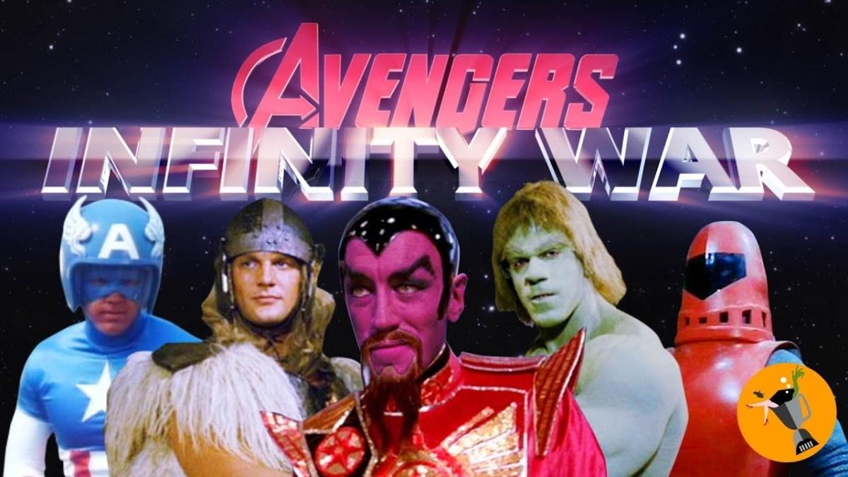 "Der Trailer zu ""Avengers: Infinity War"", aber richtig hart retro"