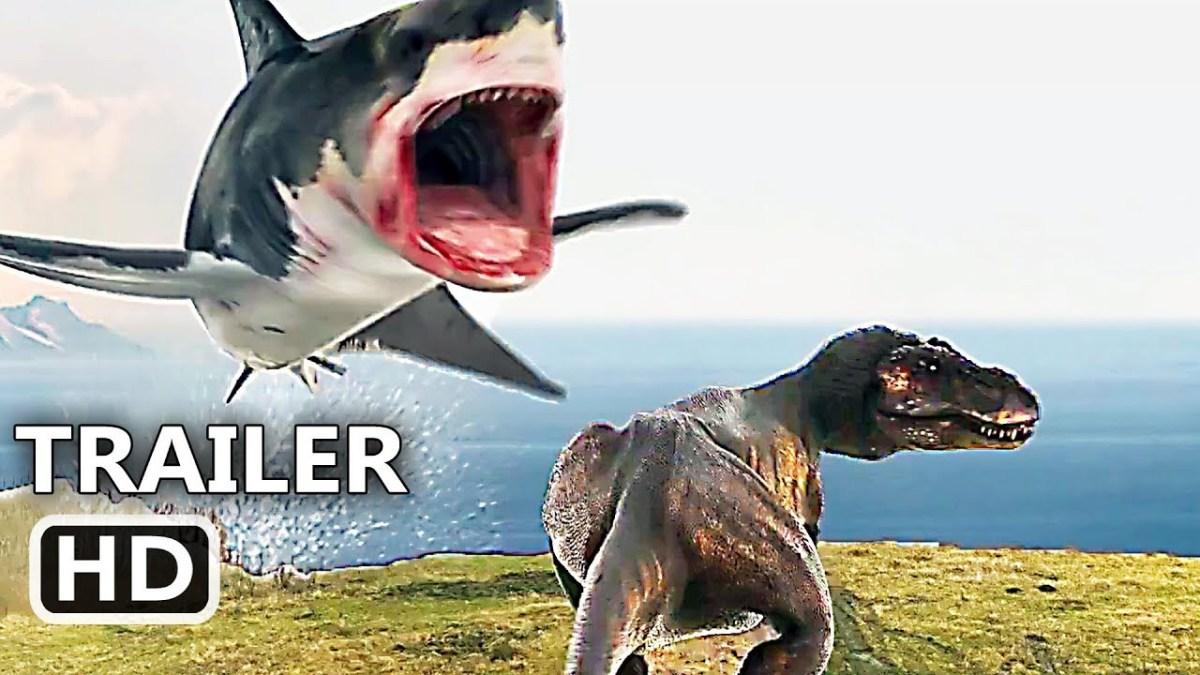 """Der Trailer zu """"The Last Sharknado: It's About Time"""" hat Zeitreisen, einen T-Rex und Roboterhaie"""