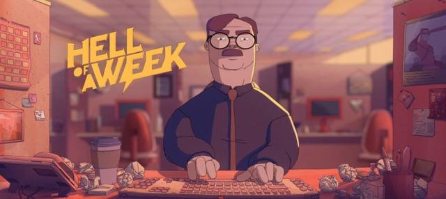 """Der animierte Kurzfilm """"Hell of a Week"""" zeigt uns das nachvollziehbare Leben eines Büroangestellten"""