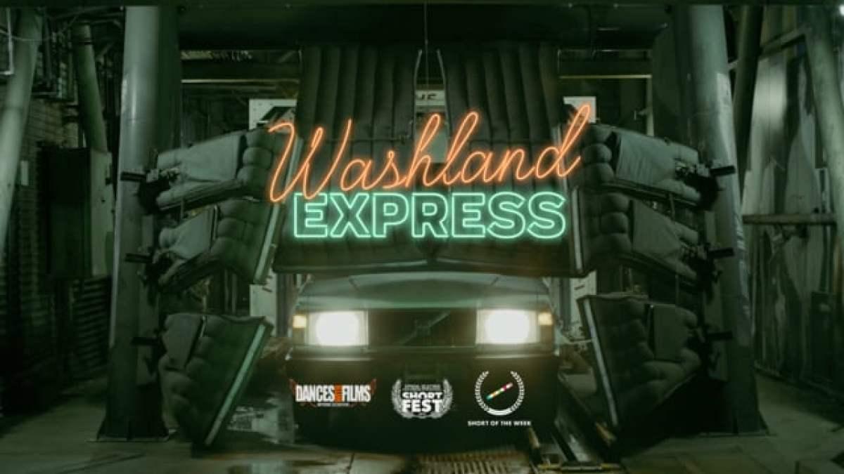 """Im Kurzfilm """"Washland Express"""" findet irgendwas in einer Waschstraße statt – puh"""