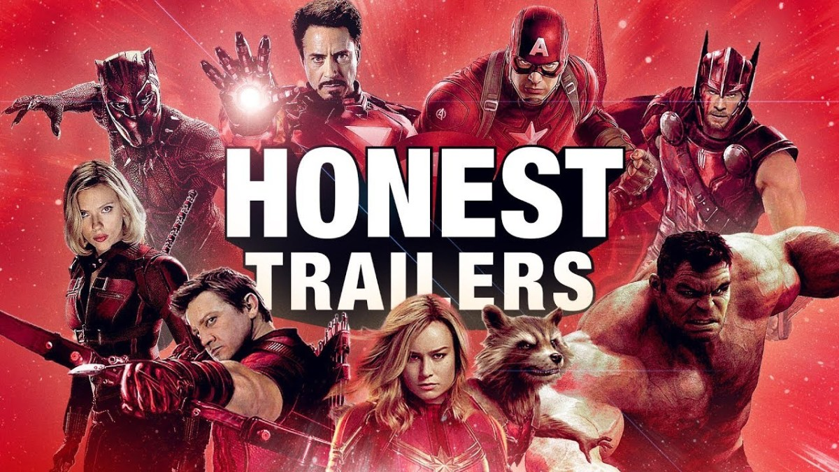Ein Honest Trailer zu allen Marvel-Filmen