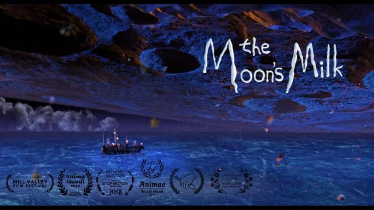"""Im Stop-Motion-Kurzfilm """"The Moon's Milk"""" sammeln tapfere Seeleute die köstliche Milch des Mondes"""