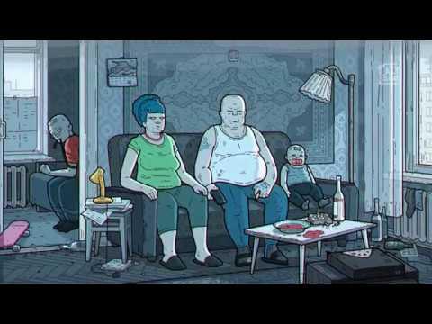 """""""The Simpsons"""", aber als russischer Art Film"""