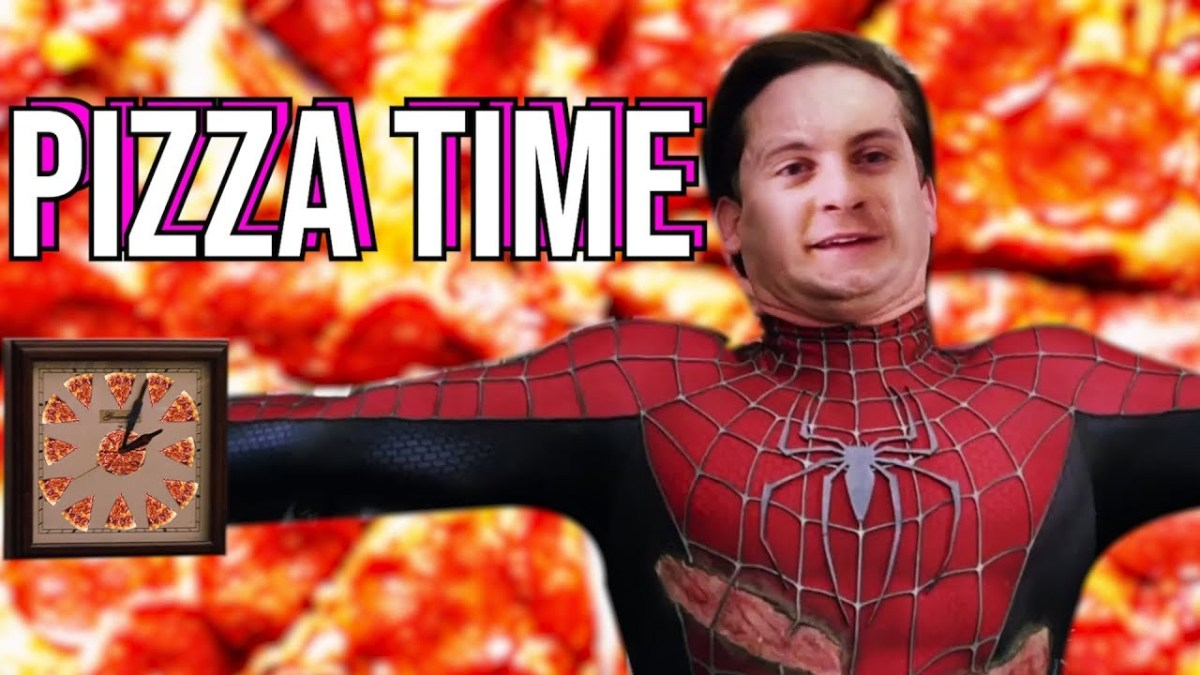 SPIDER-MAN PIZZA TIME