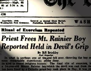 Articles sur la possession de Roland Doe 1949
