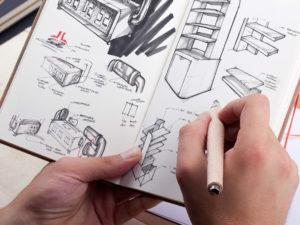 product design retainer sketches