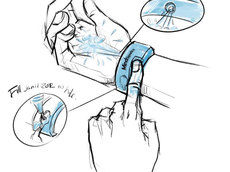 personalized bracelet hand sanitizer
