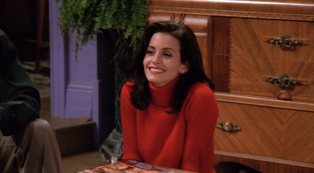 Monica Geller – High Maintenance and High Endurance!