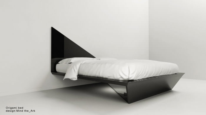 origami bed m nd