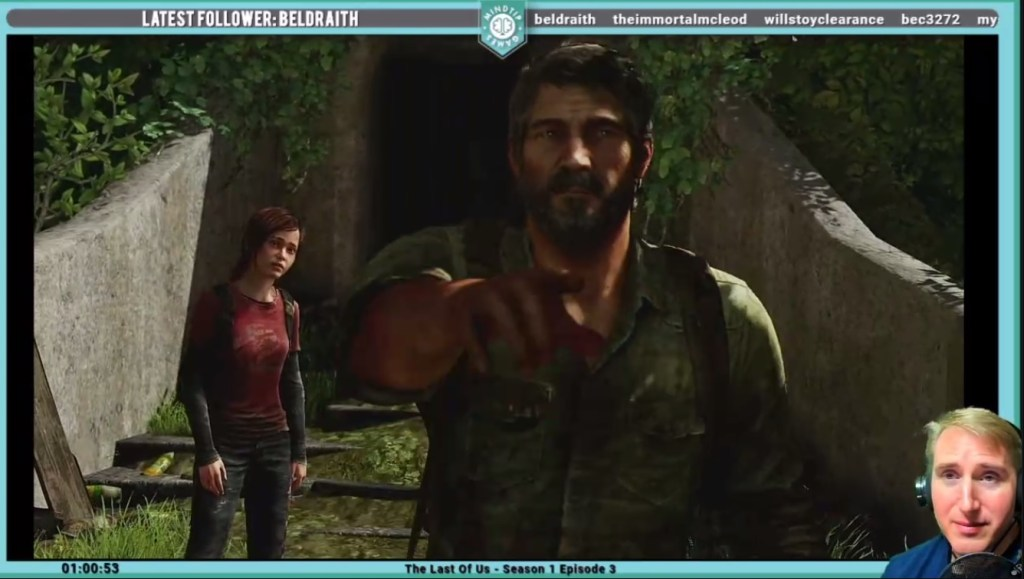 Playing the Last Of Us