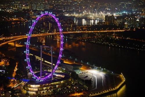 колесо обозрения сингапур фэншуй