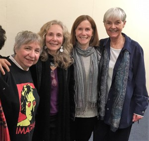 Mindy @ book talk in Buffalo with Darleen Pickering Hummert, Lorrie Rabin and Anna Kay France