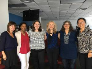Talk at Georgia State Gerontology Institute: Candace Kemp, Chivon Mingo, Jennifer Craft Morgan, Mindy Fried, Wendy Simonds and Heying Zhan!