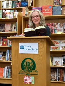 Book talk at Odyssey Bookshop in S. Hadley, MA.