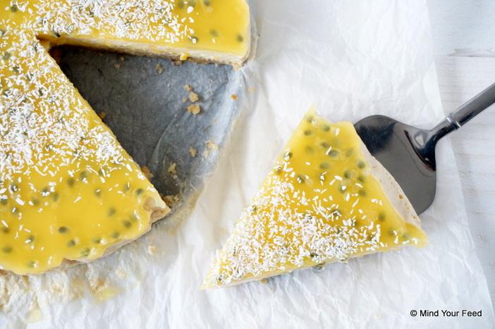 Cheesecake met mango