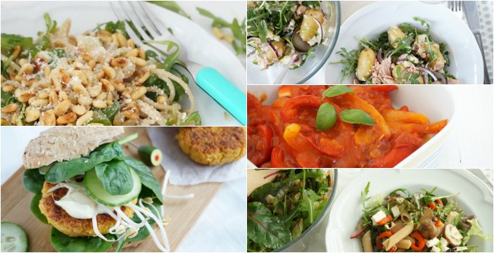 lichte zomerse gerechten