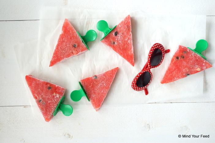 Watermeloen ijsjes