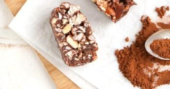 chocolade rijstwafel repen