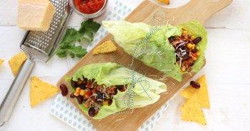 Sla wraps met mexicaans gehakt (2)
