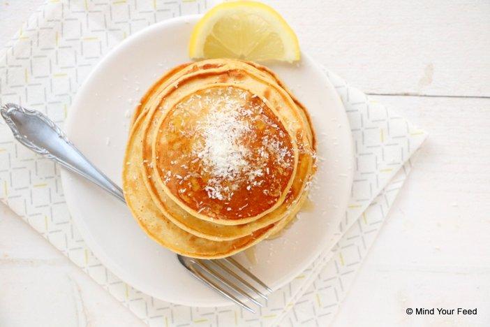 citroen yoghurt pannenkoeken