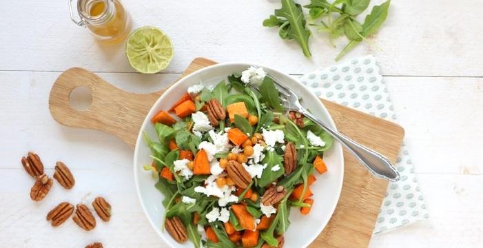 10 recepten van salades