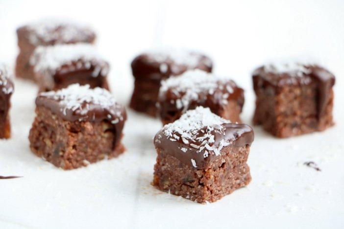 kokos amandel bonbons