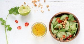 Oosterse komkommersalade