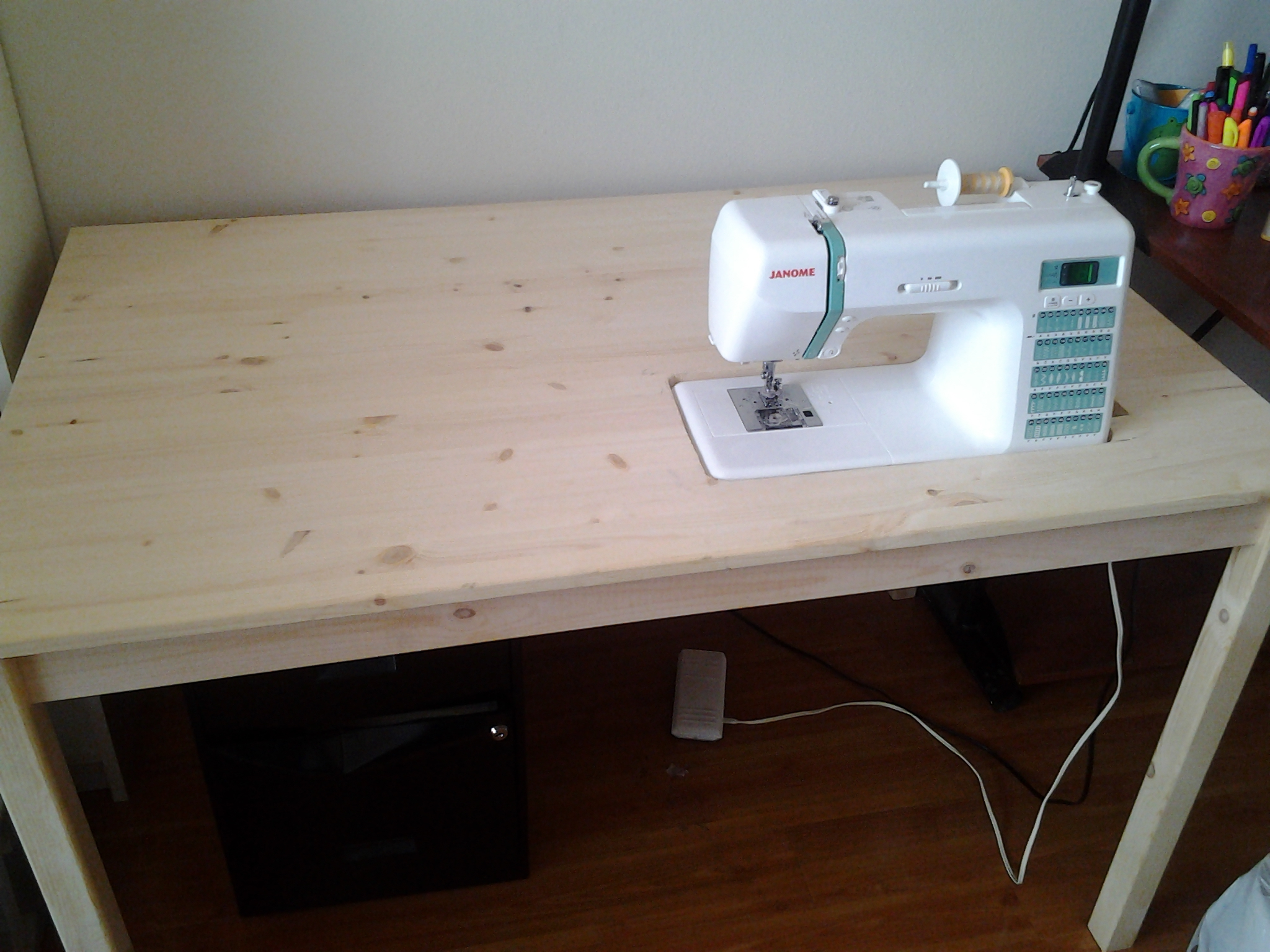 sewing table  Mind Your Needles