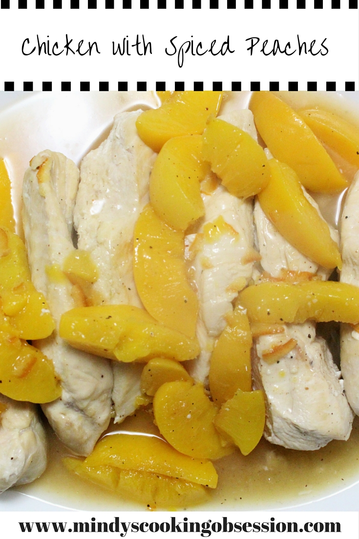 Looking for a quick, healthy dish that is more than ordinary? Then check out this recipe for Chicken with Spiced Peaches @ http://wp.me/p7kAQb-mR