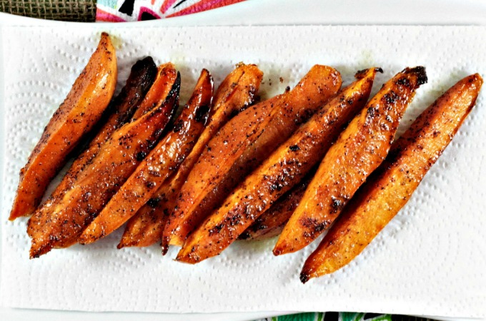 Ina Garten S Baked Sweet Potato Fries Mindy S Cooking Obsession