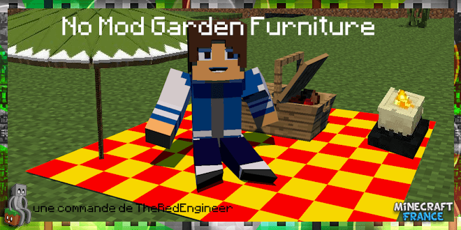 No Mod Garden Furniture 18  MinecraftFrance