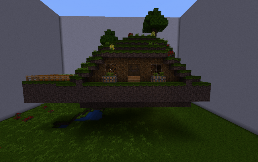 Hobbit House W Secret Room Creation 1520