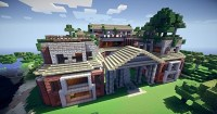 LARGE 3 story Mansion [64x64], creation #235