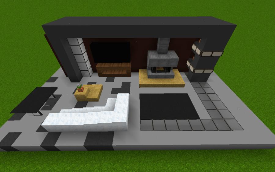 Small Modern Living Room creation 4603