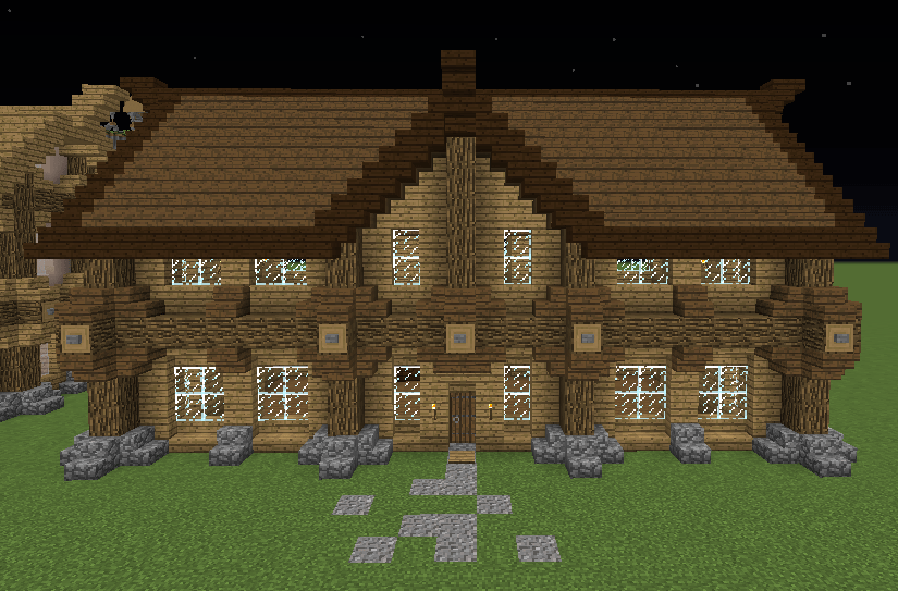 Medieval Small Mansion Creation 8417
