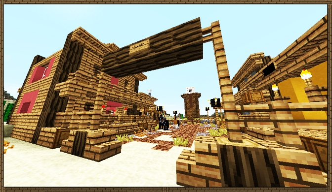 Wild west spawn town creation 960