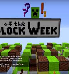 block of the week note block minecraft but brilliantly she did take the time to [ 1280 x 720 Pixel ]