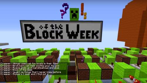 small resolution of block of the week note block minecraft but brilliantly she did take the time to