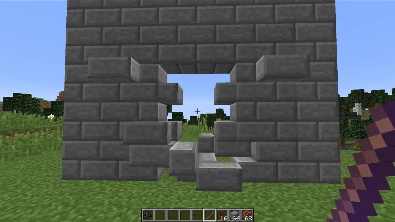 How To Build Hidden Doors Minecraft