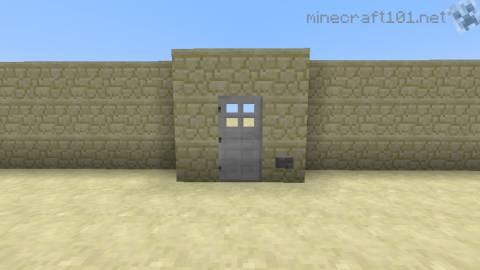 Redstone Tutorial Mob Proof Door Minecraft 101