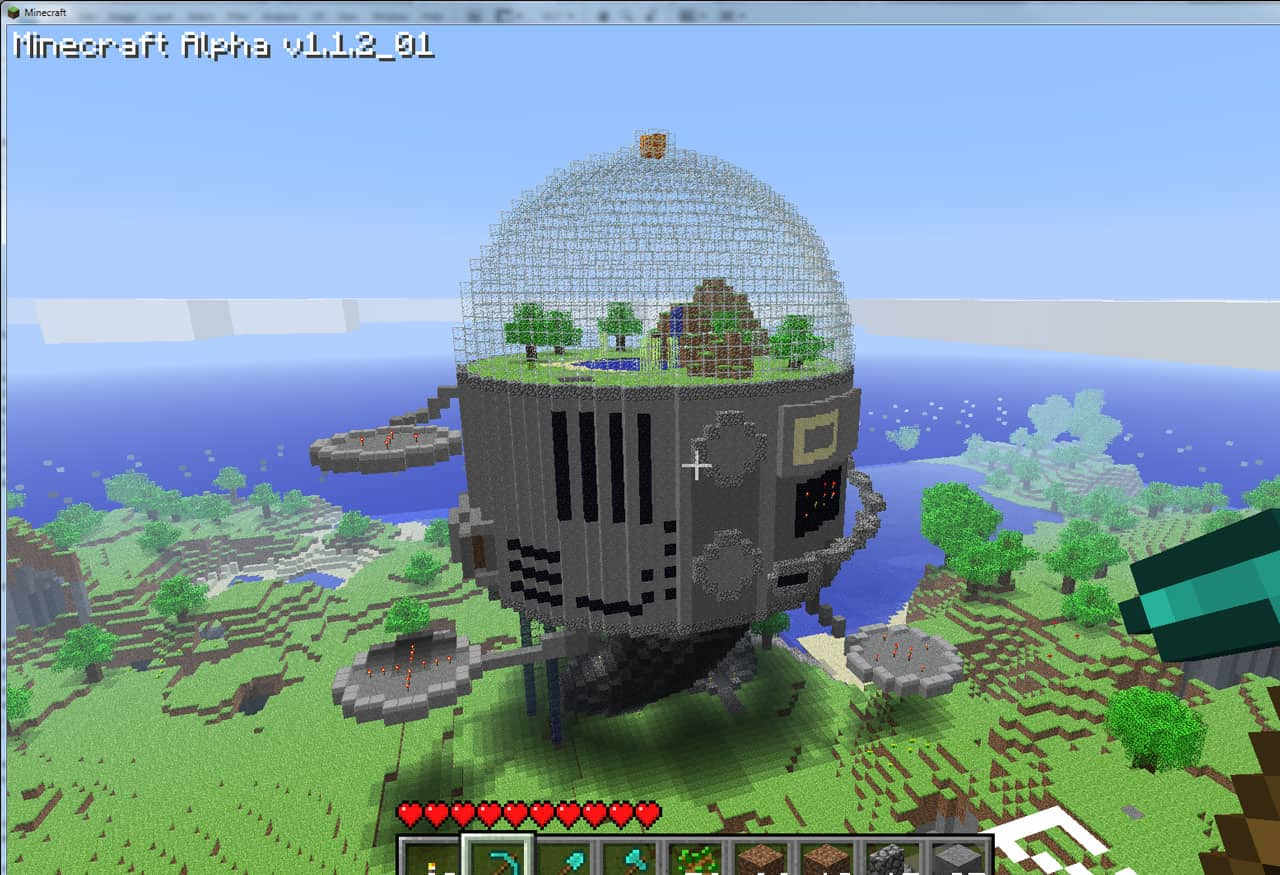 Space Dome Minecraft Building Inc