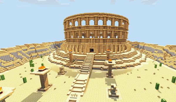 imagen de una de las grandes construcciones del mapa Revenge Of The Gods 1.4.2