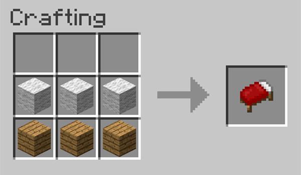 Cmo hacer una cama en Minecraft  MineCrafteo