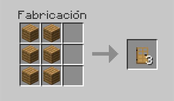 Cmo hacer una puerta en Minecraft  MineCrafteo