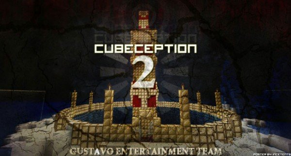 CUBEception 2 Map for Minecraft 1.4.7