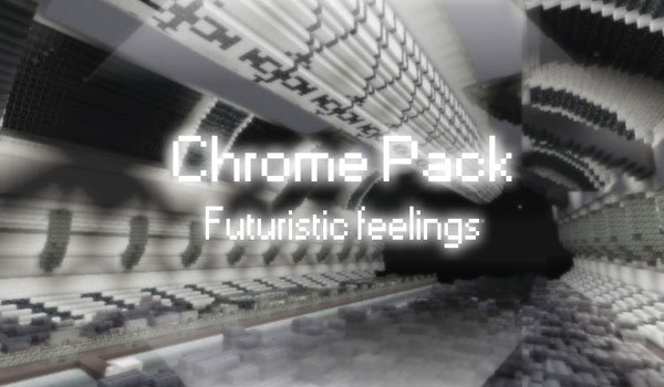 Chrome Texture Pack for Minecraft 1.2.5