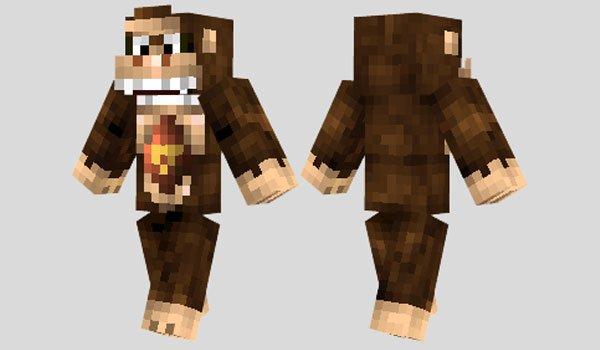 Donkey Kong Skin for Minecraft