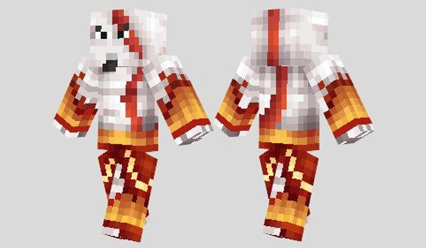 Kratos Skin for Minecraft