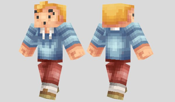TinTin Skin for Minecraft