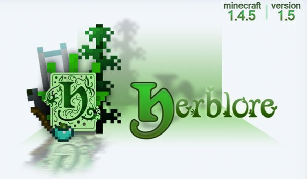 Herblore Mod for Minecraft 1.5.2